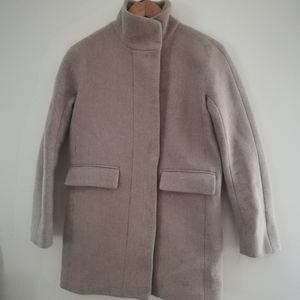 JCrew Stadium Cloth Cocoon Pea Coat Nello Gori